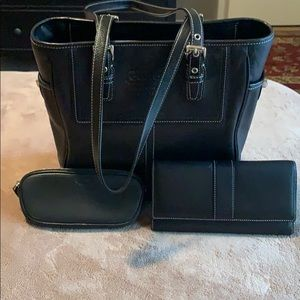 Gently used Coach Hand Bag Set